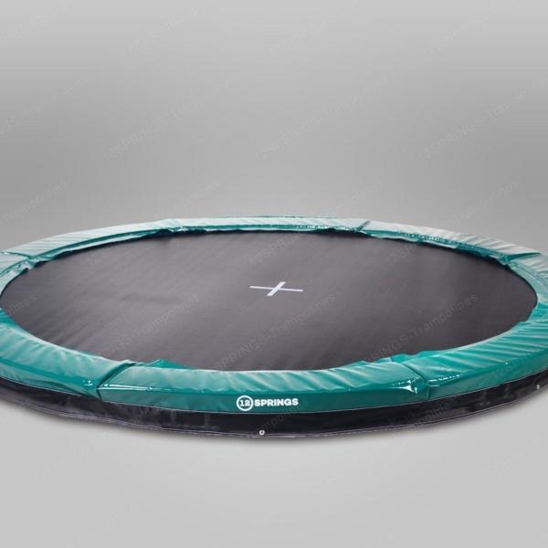 Akrobat inground trampoline